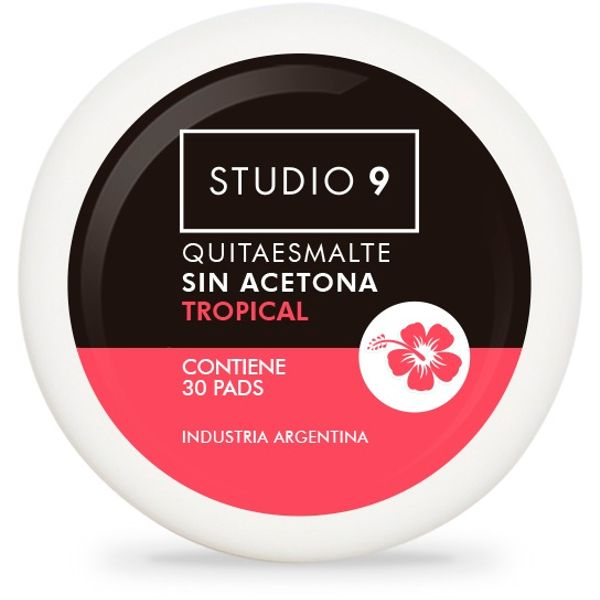 pads-quitaesmalte-para-unas-studio-9-aroma-tropical-x-30-ml
