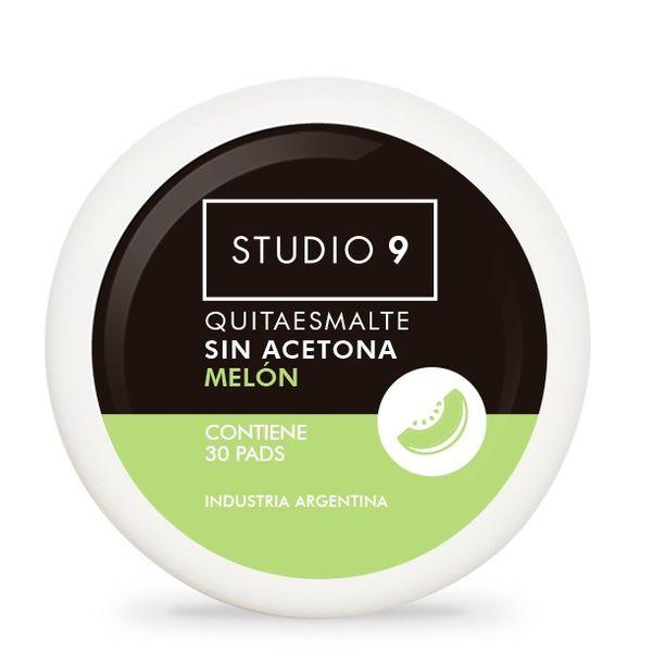 pads-quitaesmalte-para-unas-studio-9-aroma-melon-x-30-ml