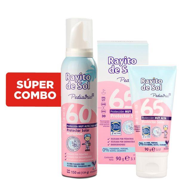protector-solar-rayito-de-sol-pediatric-fps-65-x-90-gr-mas-mousse-solar-fps-60-x-150-ml