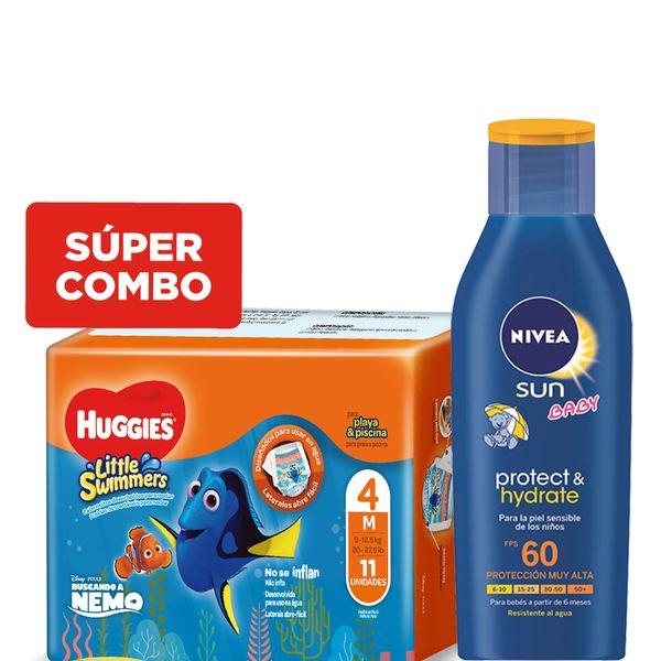 kit-un-protector-solar-nivea-hidratante-para-bebes-fps-60-mas-un-pack-panales-huggies-little-swimmers-m-x-11-un
