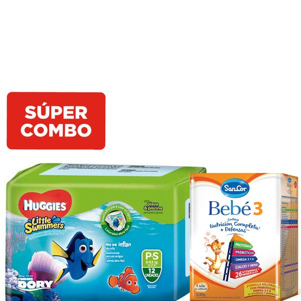 kit-una-leche-sancor-bebe-3-x-800-gr-y-un-pack-pañales-huggies-little-swimmers-p-x-12-un