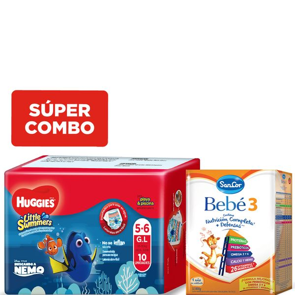 kit-una-leche-sancor-bebe-3-x-800-gr-y-un-pack-pañales-huggies-little-swimmers-g-x-11-un