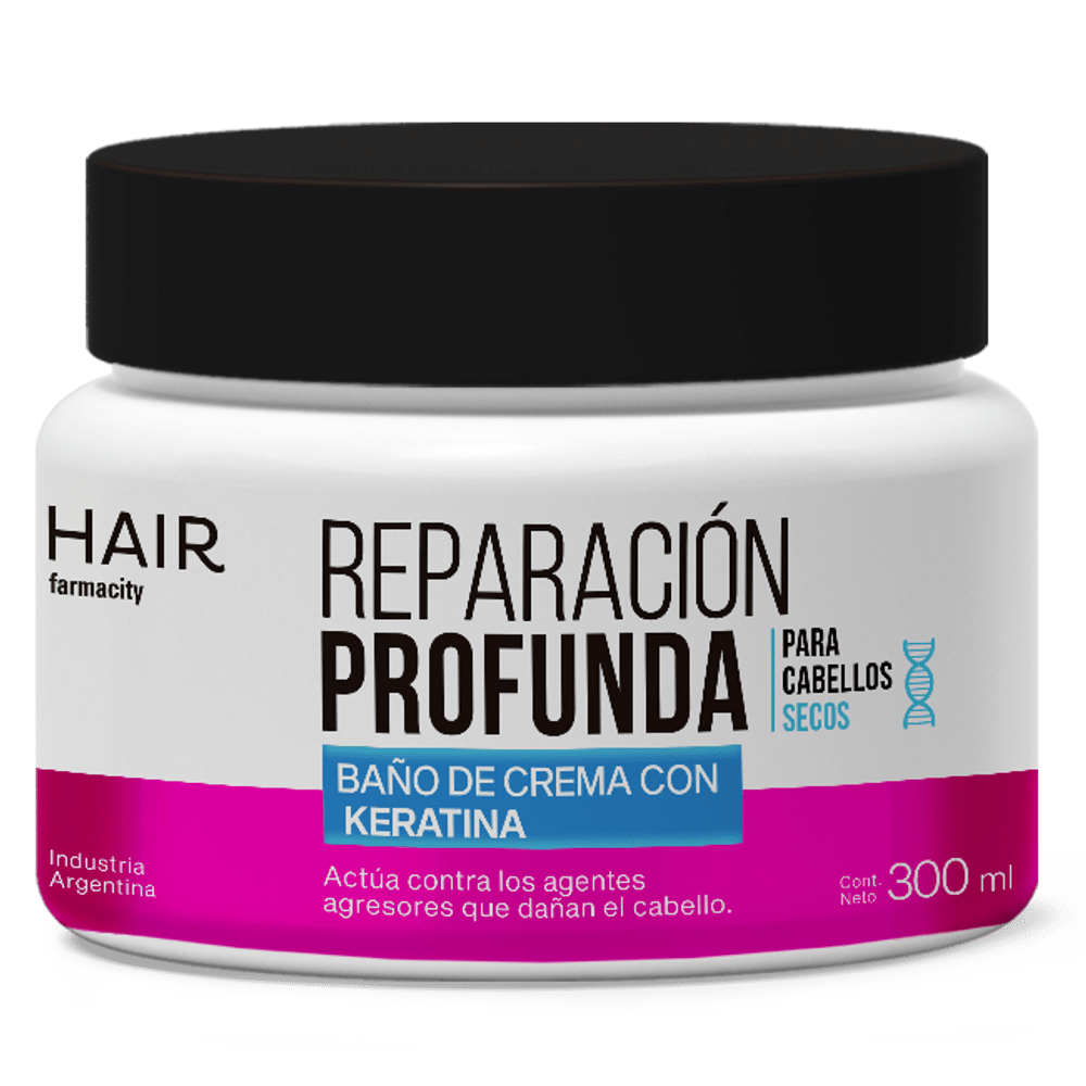 Bano De Crema Hair Farmacity Reparacion Profunda X 300 Ml
