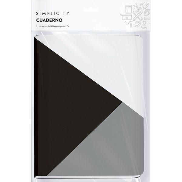 cuadernos-tapa-blanda-simplicity-blanco-y-negro-x-3-un