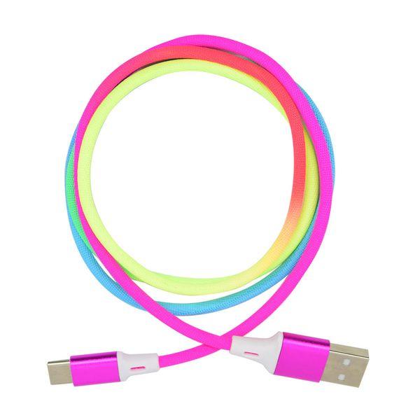 cable-type-c-simplicity-rainbow-x-1-m