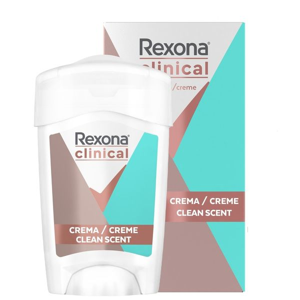Antitranspirante-femenino-Rexona-crema-Clinical-Clean-Fresh-x-48-gr
