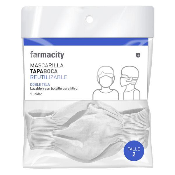 mascarilla-tapaboca-farmacity-doble-tela-reutilizable-blanco-talle-2-x-1-un