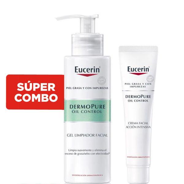 combo-eucerin-dermopure-oil-control-gel-limpiador-crema-facial-noche