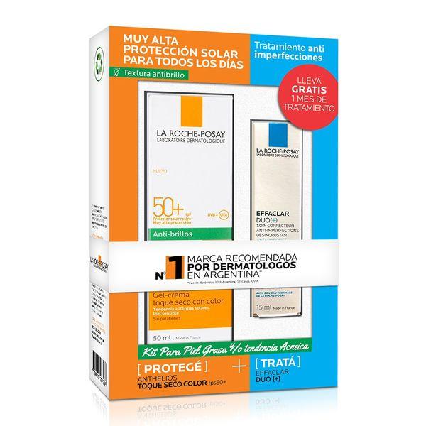kit-gel-crema-la-roche-posay-anthelios-toque-seco-color-fps-50-x-50-ml-crema-tratamiento-la-roche-posay-effaclar-duo-anti-imperfecciones-x-15-ml