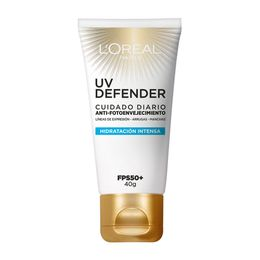crema-facial-loreal-paris-uv-defender-hidratacion-intensa-fps-50-x-60-ml