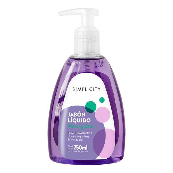 jabon-liquido-con-dosificador-antibacterial-aroma-mora-y-lirio-x-250-ml