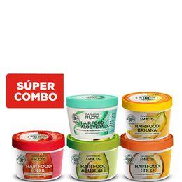 combo-tratamiento-capilar-fructis-hair-food-mascara-de-nutricion-x-350-ml-mascara-de-reparacion-x-350-ml-mascara-de-fuerza-x-350-ml-mascara-de-brillo-x-350-ml-mascara-de-hidratacion-x-350-ml