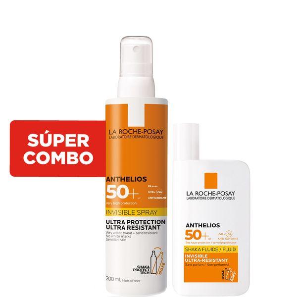 combo-protector-solar-la-roche-posay-anthelios-invisible-en-spray-fps-50-x-200-ml-protector-solar-la-roche-posay-anthelios-fluido-invisible-fpS-50-x-50-ml