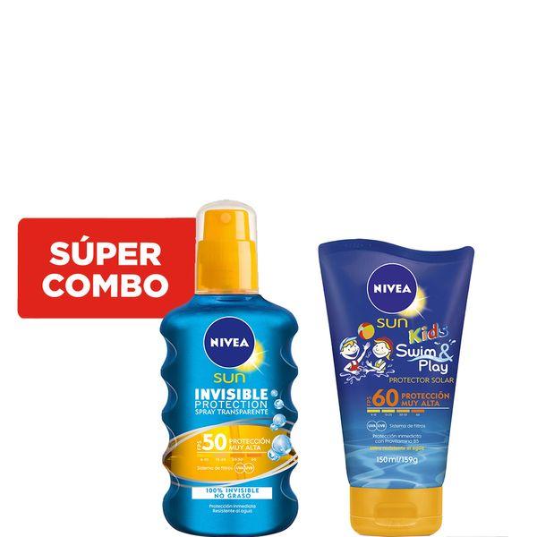 combo-nivea-protector-solar-swim-play-kids-fps-60-x-150-ml-protector-solar-protect-refresh-spray-fps-50-x-200-ml