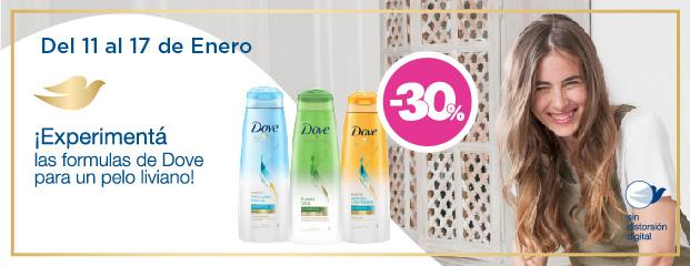 Unilever Dove Pelo Liviano NewHome