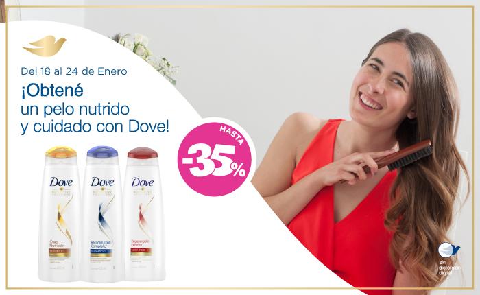 Unilever Dove Pelo cuidado y nutrido NewHome