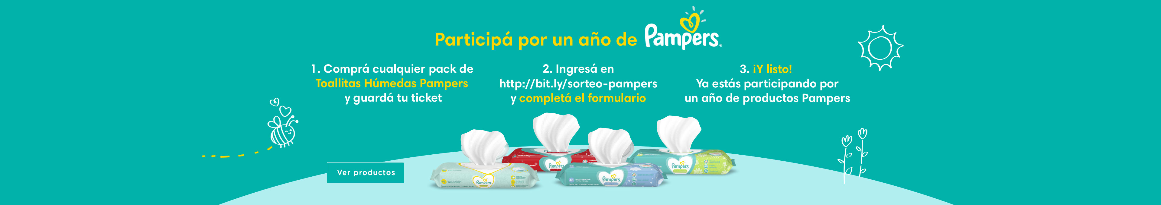 P&G Sorteo Pampers NewHome