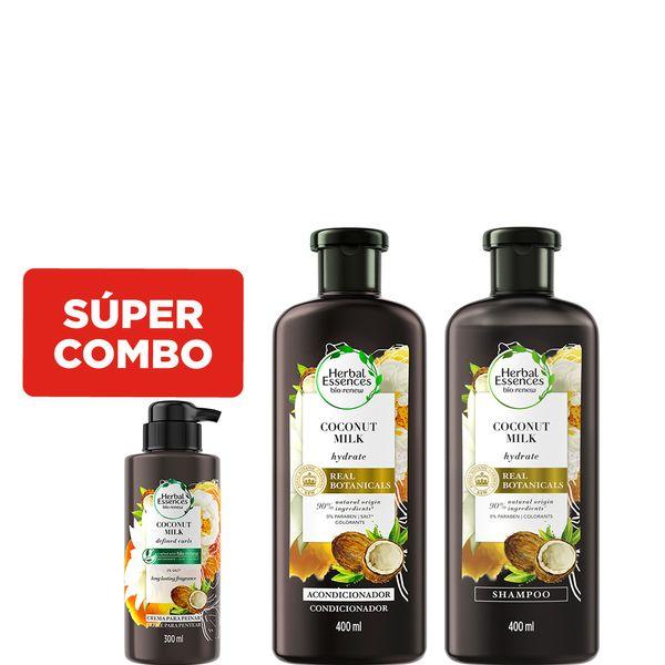 combo-capilar-herbal-essences-coconut-milk-x-400-ml