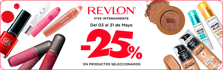 Revlon 25 off NewHome