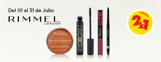 COTY rimmel 2x1 NewHome