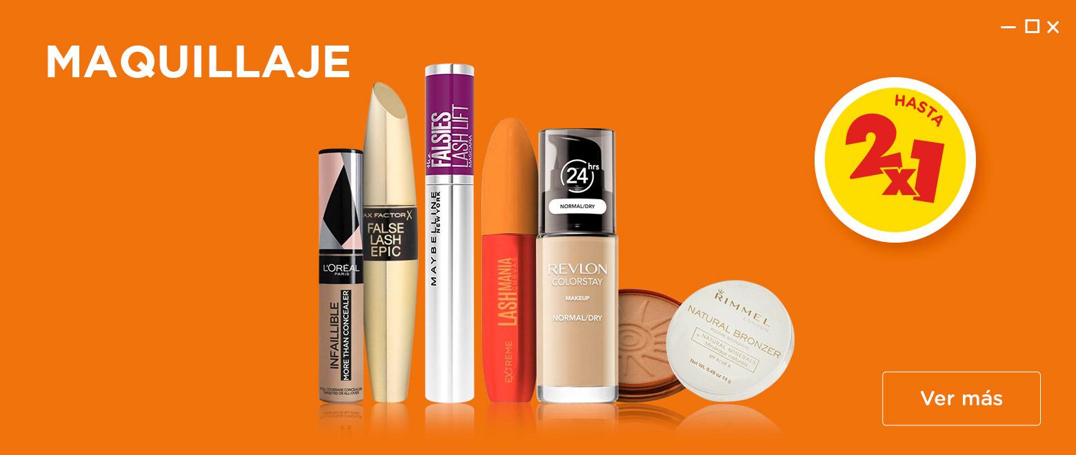 Maquillaje hasta 2x1 Nov Premium Desk