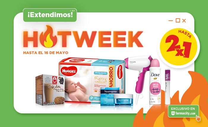 Hotweek hasta 2x1 home