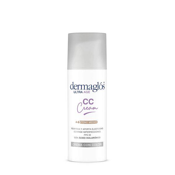 crema-facial-dermaglos-cc-cream-ultra-age-hidratante-de-dia-fps-50-x-50-g