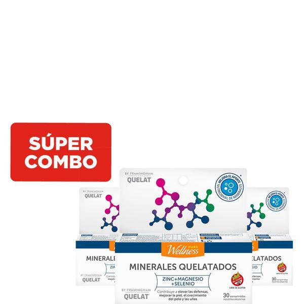 combo-de-3-suplementos-dietarios-pure-wellness-minerales-quelatados-x-30-un