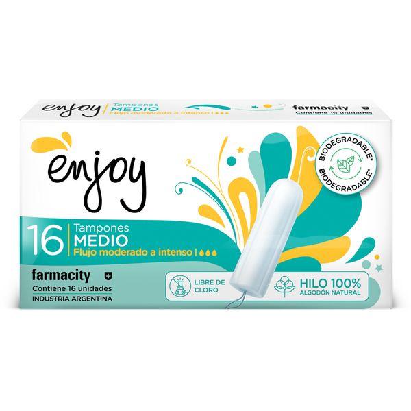 tampones-enjoy-biodegradable-medio-x-16-un