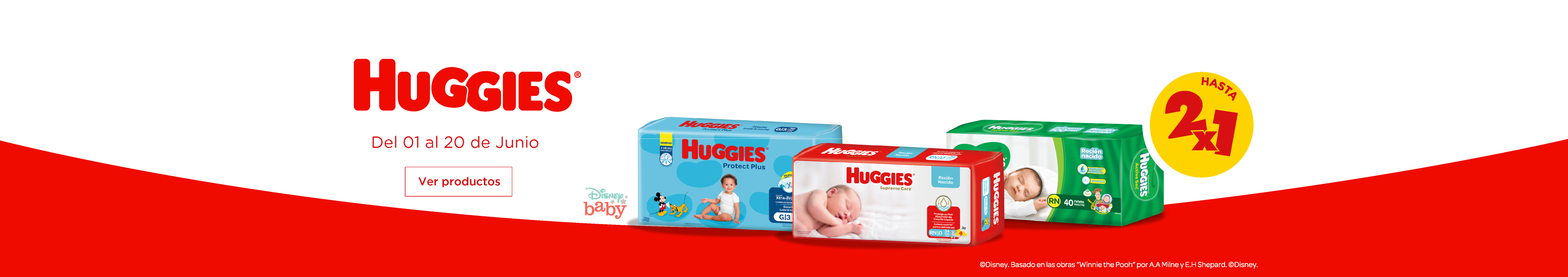 Kimberly huggies hasta 2x1 NewHome