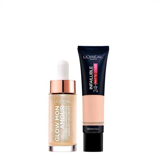 kit-de-maquillaje-loreal-paris-base-e-iluminador
