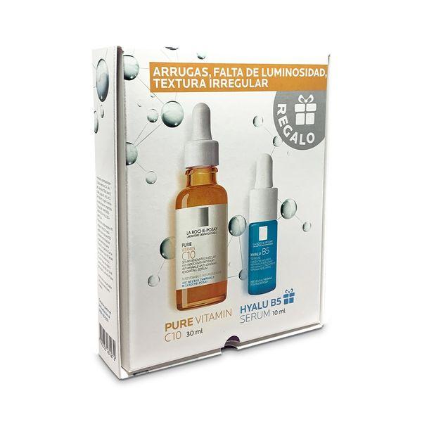 set-la-roche-posay-pure-vitamin-c10-hyalu-serum-b5-x-10-ml